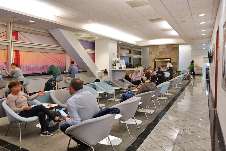 舊金山機場SFO   法航/荷航貴賓室 Air France-KLM Lounge