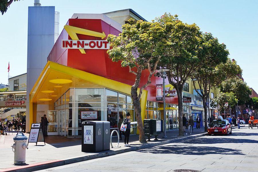 舊金山 | In-N-Out Burger 漁人碼頭 – 隱藏菜單人氣爆表,可惜真的還好XD