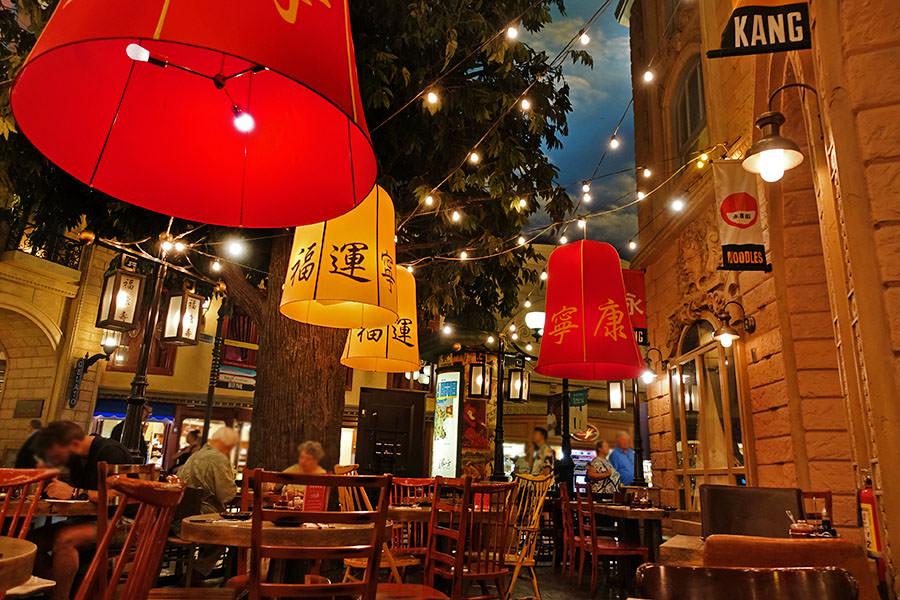 拉斯維加斯 | 巴黎酒店 永康街 Yong Kang Street 台港美食飄香賭城
