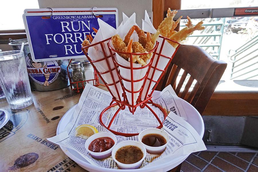 洛杉磯   Bubba Gump 阿甘蝦餐廳 Santa Monica 蝦料理吃個過癮!!