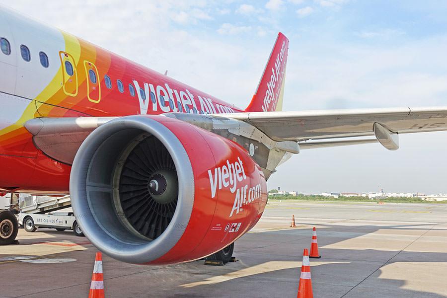 泰越捷航空 Thai Vietjet Air | VZ560 曼谷BKK ⇒ 台中RMQ,早回班機直飛,飛機餐好好吃!!