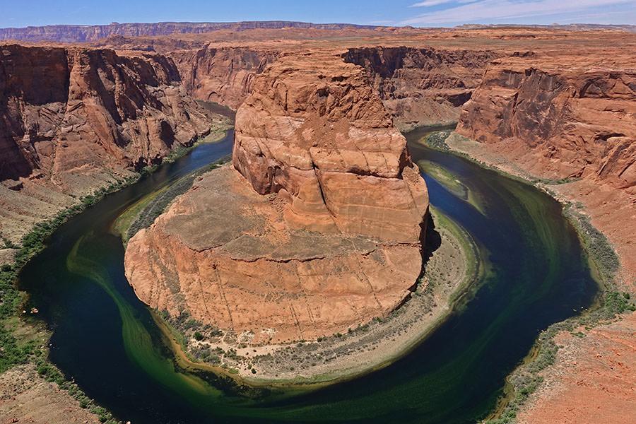 亞利桑那 | 美國馬蹄灣 Horseshoe Bend 科羅拉多河的峽谷奇蹟!!