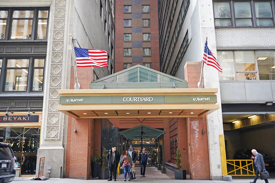 曼哈頓住宿 Courtyard New York Manhattan Times Square 紐約時代廣場萬怡酒店,地鐵30秒就到,住進瘋狂城市的中心!!