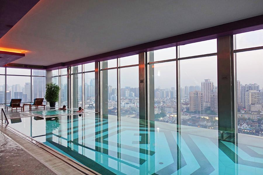 上海豫園萬麗酒店 Renaissance Shanghai Yu Garden Hotel 交通便利地鐵出站就到!!