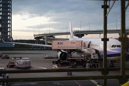 中華航空 China Airlines   CI173 關西KIX ⇒ 台北TPE 飛行紀錄,華航水果餐分享