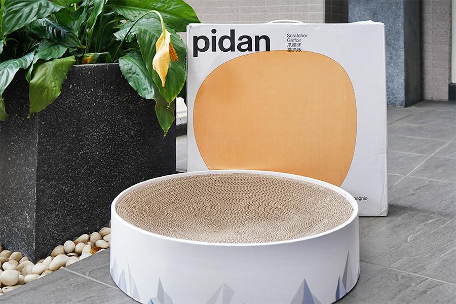 Pidan 山谷貓抓板,高顏值耐用貓碗~半年掰掰 (☍﹏⁰。)