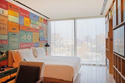 高雄英迪格酒店 Indigo Kaohsiung 首間 IHG 設計飯店,中央公園市中心住宿,在地特色早餐極推!!