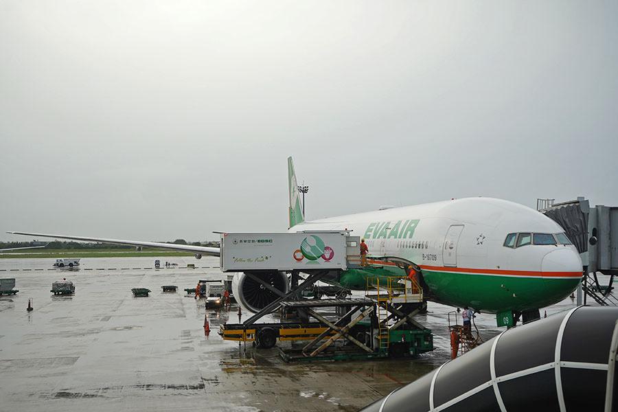長榮航空 EVA AIR | BR206 泰國曼谷BKK ⇒ 台北桃園TPE 飛行紀錄