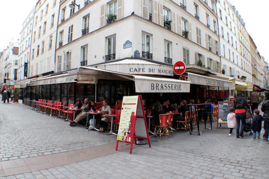 [法國] 巴黎 Paris @ Café Du Marché 戰神廣場附近的好吃油封鴨腿
