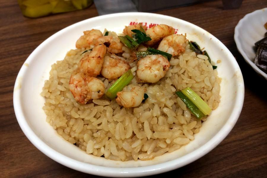 [台南] 集品蝦仁飯 台南在地火燒蝦