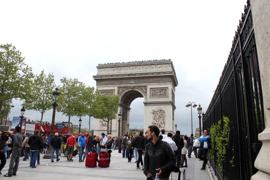 [法國] 巴黎 Pairs @ 凱旋門 Arc de triomphe de l'Étoile