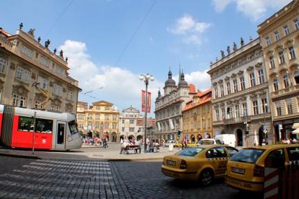 布拉格小城廣場 Malostranské náměstí 地理位置簡單介紹