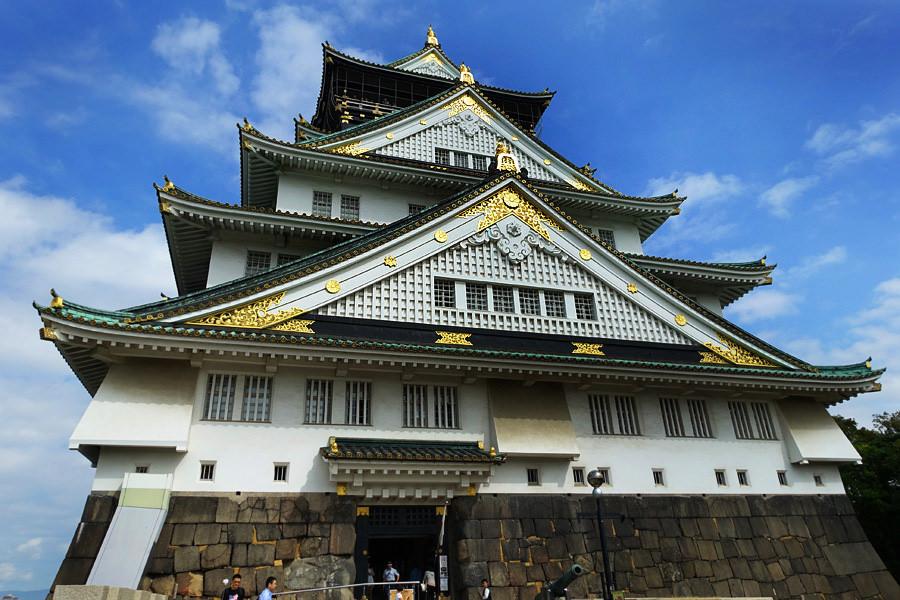 大阪城天守閣 Osaka Castleおおさかじょう