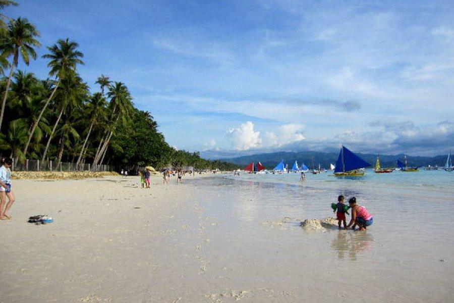 Boracay 長灘島人間仙境,沙灘大街與陽光