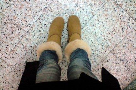 BearPaw 厚底高統雪靴
