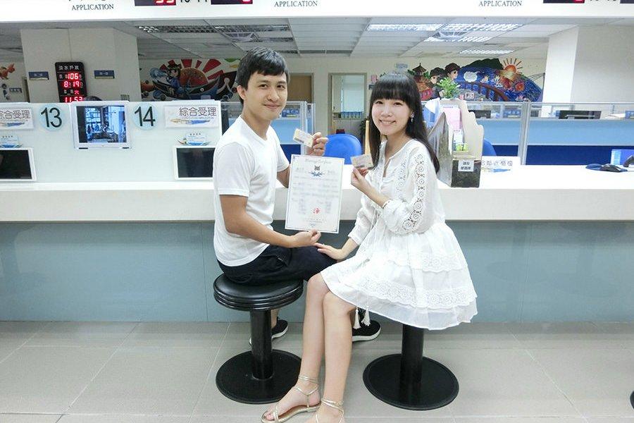 [Wedding] 我們結婚了!! 自製結婚書約 / 結婚登記 / 貓咪見證人