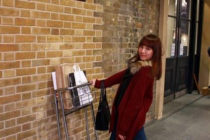 倫敦 London    哈利波特9¾月台 Platform Nine and Three Quatres