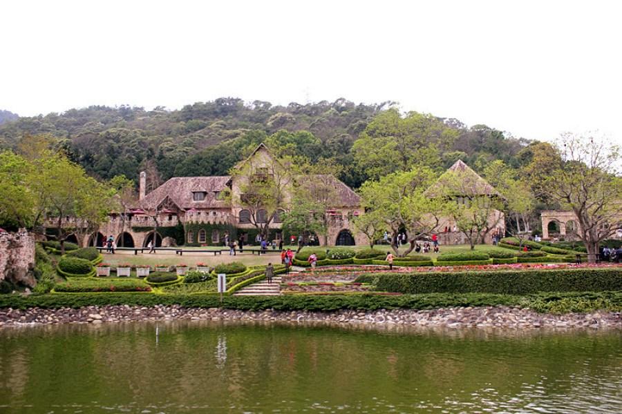 台中新社莊園 Summit Resort ∥ 美麗的歐式古堡花園<3