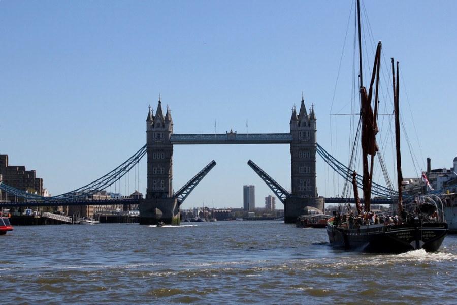 倫敦 London | KPMG Thames Clippers 交通船 – London Bridge to Greenwich