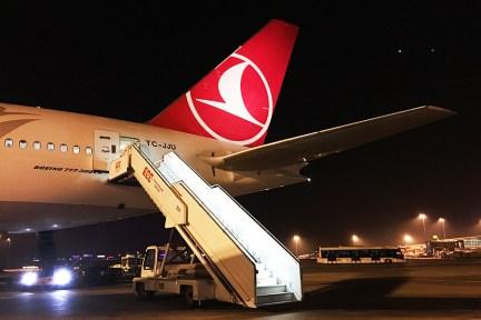 土耳其航空 Turkish Airlines   TK1851 伊斯坦堡IST ⇒ 巴塞隆納BCN 飛行紀錄 機場出境大廳