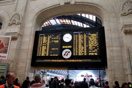 義大利國鐵 Trenitalia | 米蘭 Milan → 威尼斯 Venice