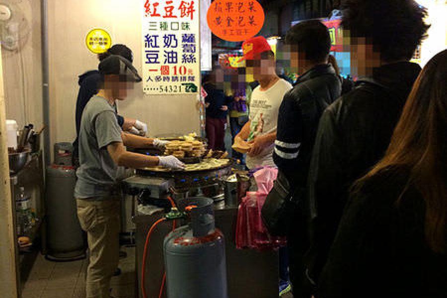 台北晴光市場 | 晴光紅豆餅總店 – 銅板美食車輪餅