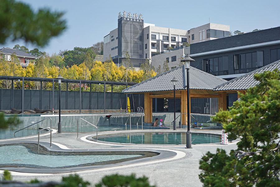 享沐時光莊園渡假酒店,苗栗最新溫泉飯店~700坪超大露天風呂,泡完超咕溜的美人湯泉!