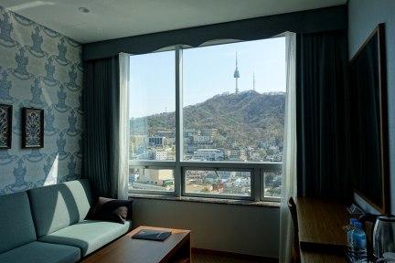 首爾 Seoul | 明洞 O. LOISIR HOTEL MYEONGDONG 首爾塔景觀住宿