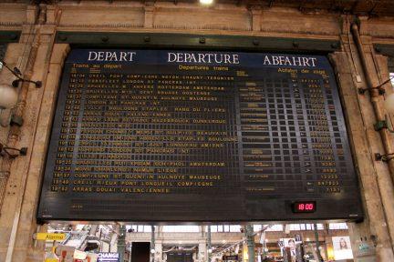 歐洲之星 Eurostar | 巴黎 Paris → 倫敦 London