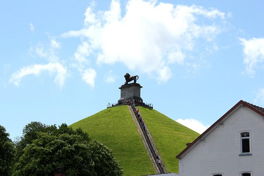 [比利時] 滑鐵盧 Waterloo @ 獅子丘 Lion's Mound – 拿破崙帝國敗北的關鍵之戰