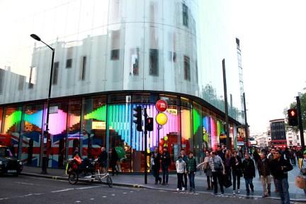 倫敦 London   M&M's World London