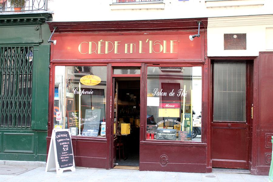巴黎 Paris | 聖路易島美味法式薄餅 La Crepe En l'Isle