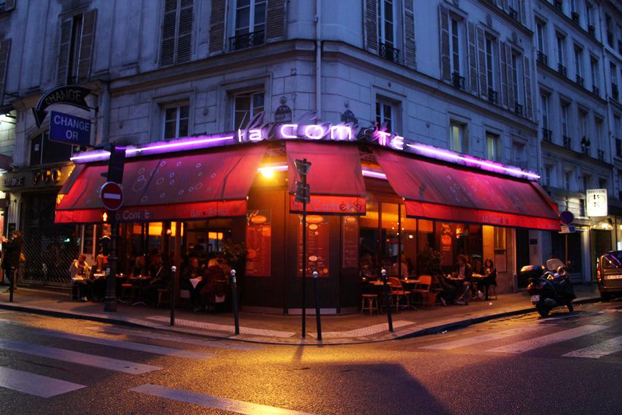 [法國] 巴黎 Paris @ La Comète 出色的巴黎平價小酒館