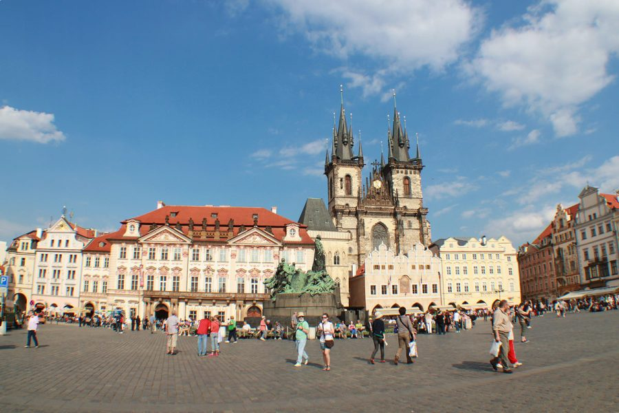 布拉格舊城廣場 Staroměstské náměstí