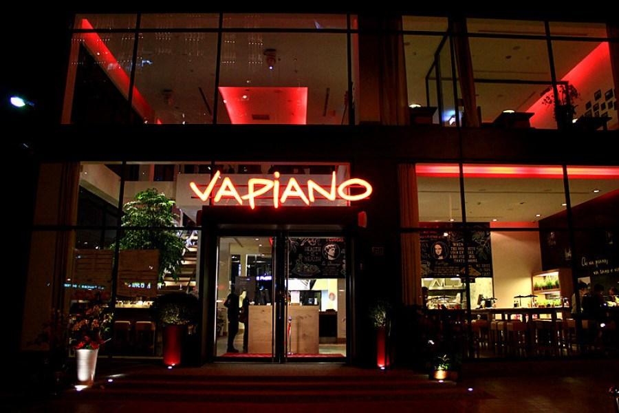 台中 Vapiano Taichung 勤美綠園道,來自歐洲的連鎖自助餐飲品牌