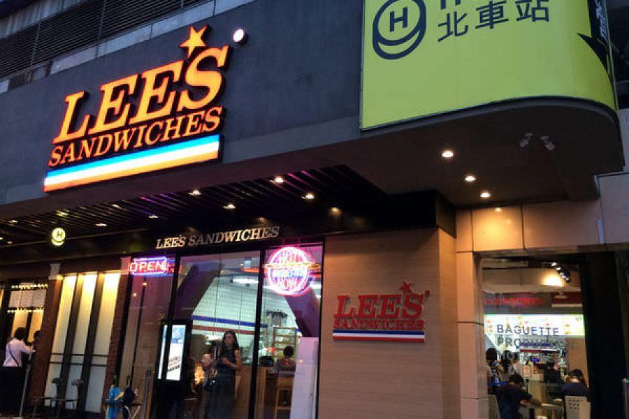 台北北車 | Lee's Sandwiches 全世界最好吃法越歐式三明治 美味清爽鮮果昔