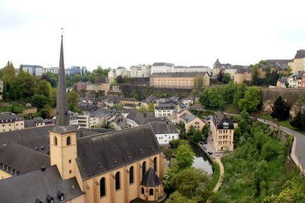 [盧森堡] Luxembourg | 康尼徐走廊 Chemin de la Corniche x 阿爾吉特河谷 Alzette valley x 貝克要塞防禦工事 Casemates du Bock