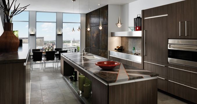 Wood-Mode kitchen cabinetry