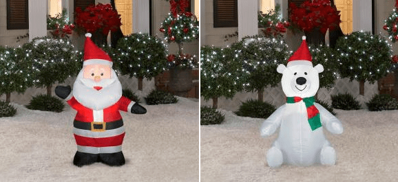 *HOT* Home Depot: Christmas Inflatables Only $9.99 Shipped