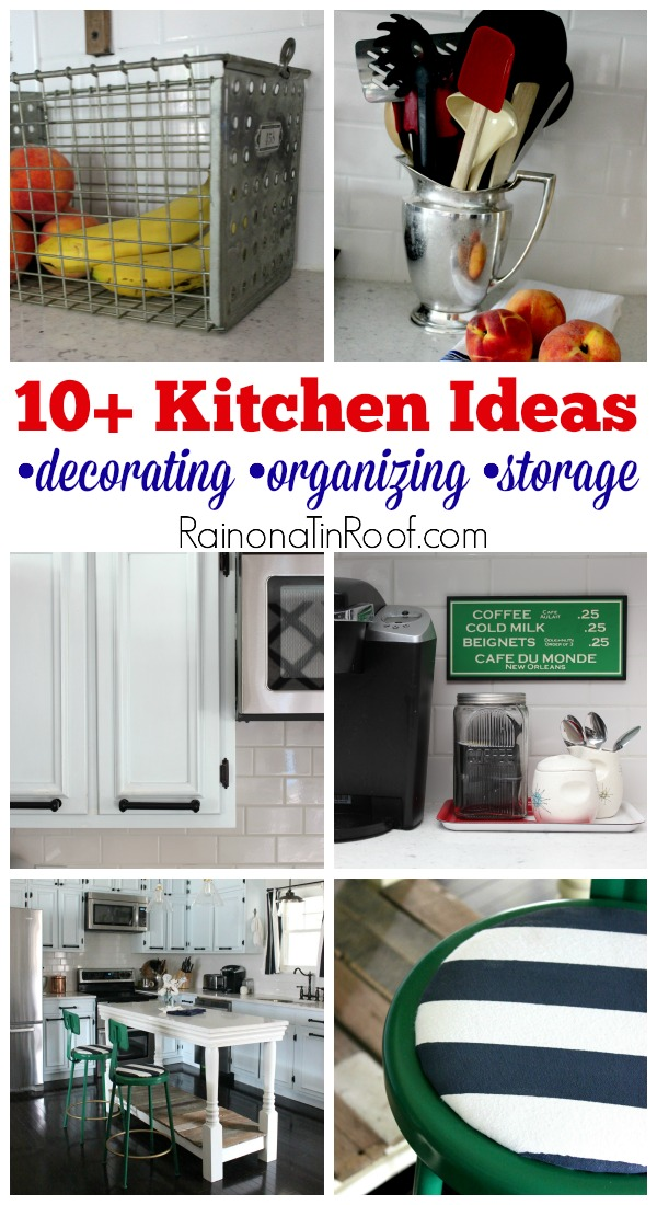 10 Kitchen Ideas For Decorating Organizing And Storage