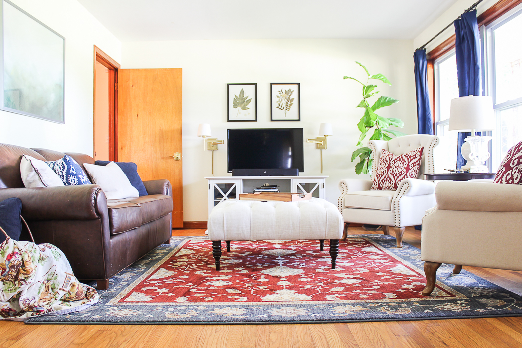 Traditional Casual Living Room Updates