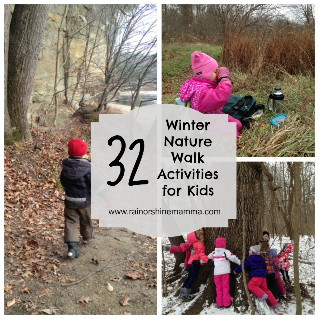 32 Fun Winter Nature Walk Activities For Kids