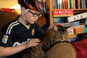 Doing Reiki on your pets regularly builds a strong bond between you and them and builds trust.  Children doing Reiki on animals builds compassion for all living creatures.