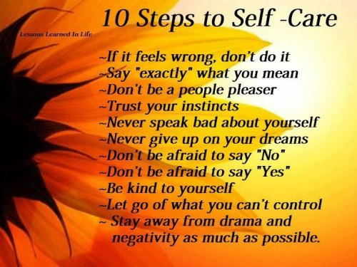 Self Care 10 Steps