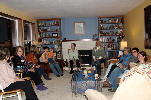 The ladies and babies of our February 2014 Reiki Round Table for Rain Shadow Reiki.Photo by the amazing Chelsea.