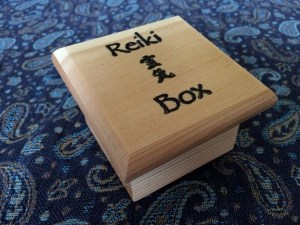 I purchase my Reiki Boxes from Mary Riposo at ........ for about $10 each.  They make wonderful gifts for people who work with Reiki.  That is how I got mine, a gift from a dear friend.