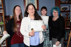 Congratulations Naomi, Beth, Kimberly and Stephanie!!  Reiki II Practitioners April 6th, 2015