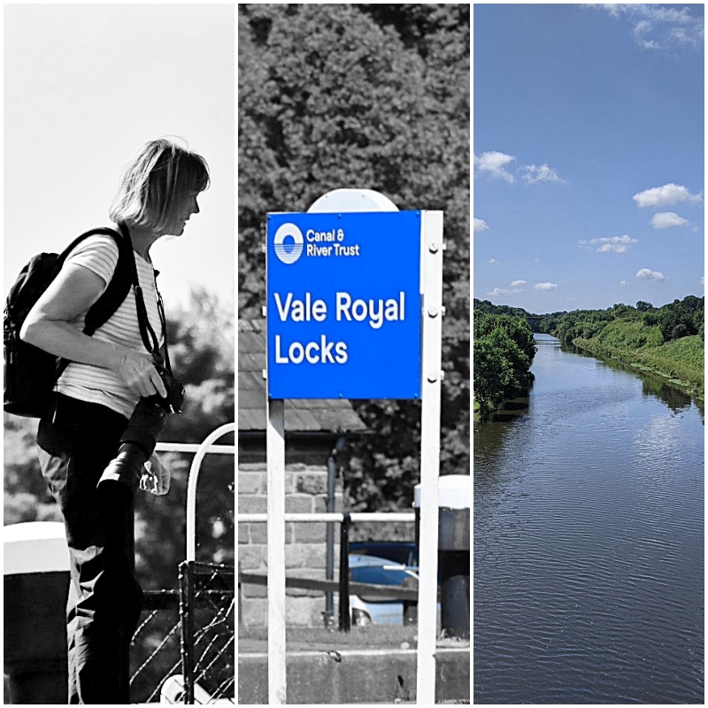 Wandering along the River Weaver and a visit to Vale Royal locks.