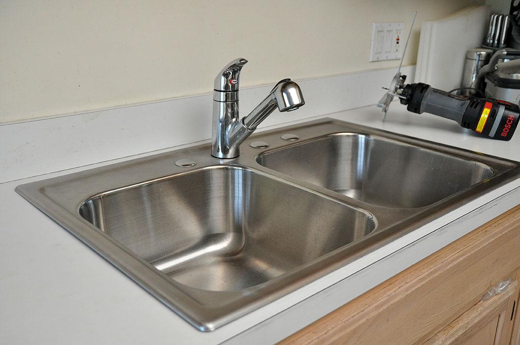 Sink Upgrade Installation And Plumbing Rainydaymagazine