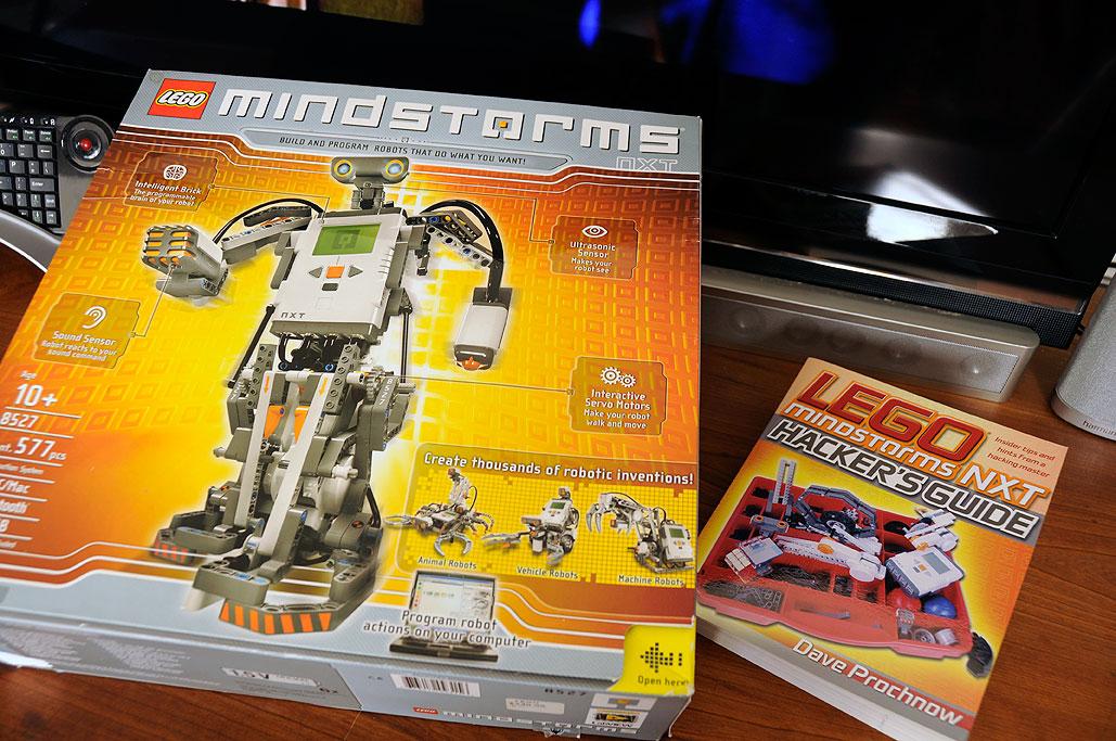 LEGO: Mindstorms NXT | RainyDayMagazine